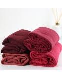 Maxi hijab froissé rouge bordeaux