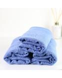 Maxi hijab froissé bleu jean