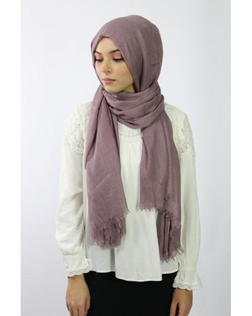 Maxi Hijab Coton PREMIUM mauve★