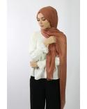 Maxi Hijab Coton PREMIUM brique ★