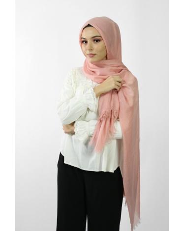 Maxi Hijab Coton PREMIUM rose ★