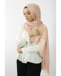 Maxi Hijab Coton PREMIUM saumon★