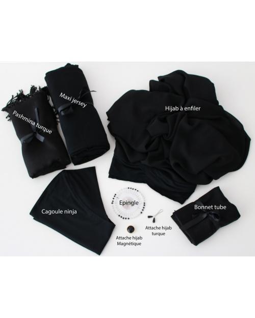 Kit indispensable Hijabi Noir