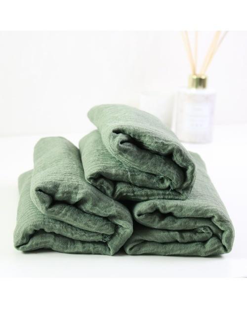 Maxi hijab froissé vert clair