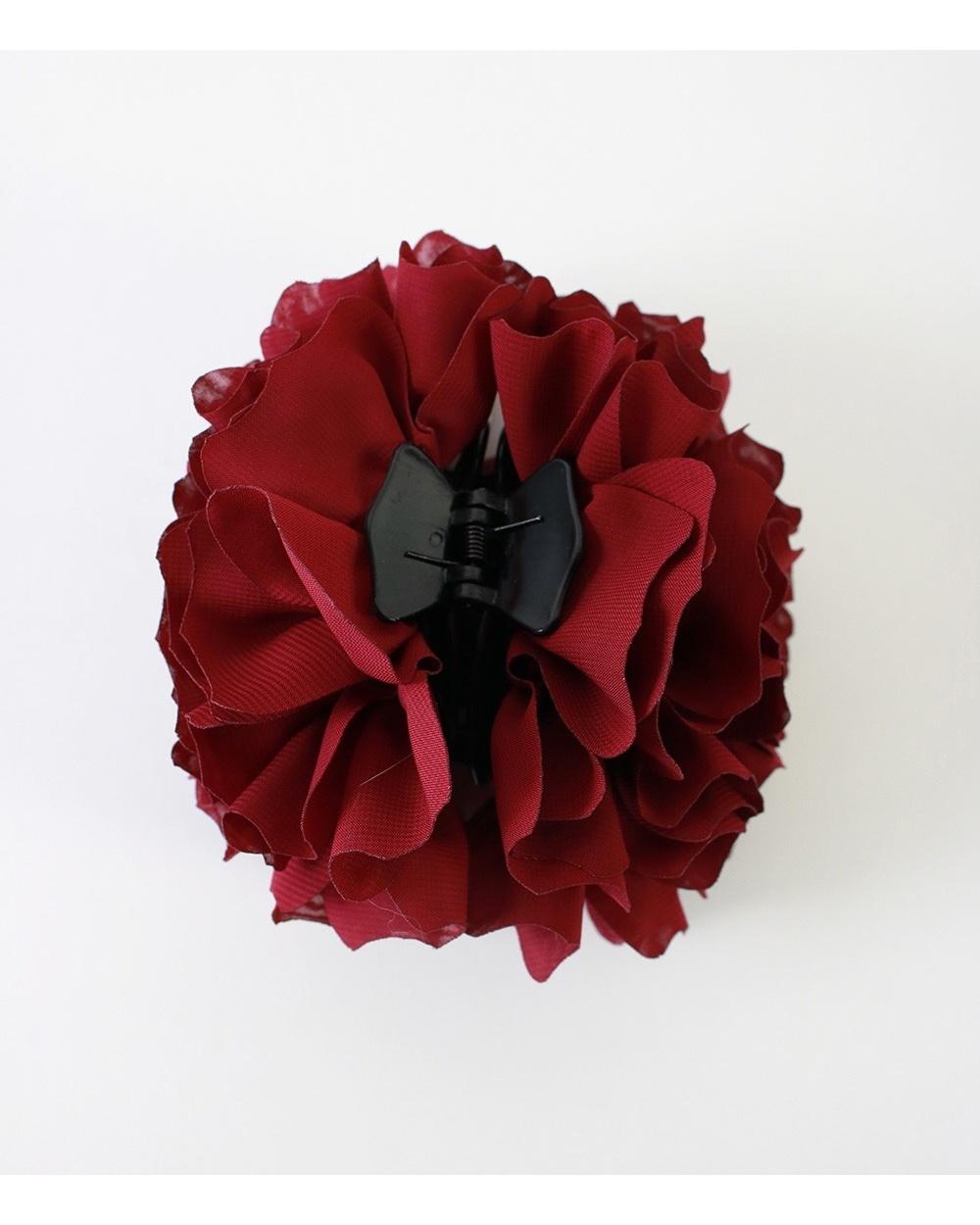 Pince volumateur hijab rouge bordeaux