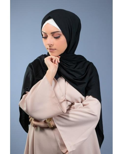 hijab Maxi jersey PREMIUM noir