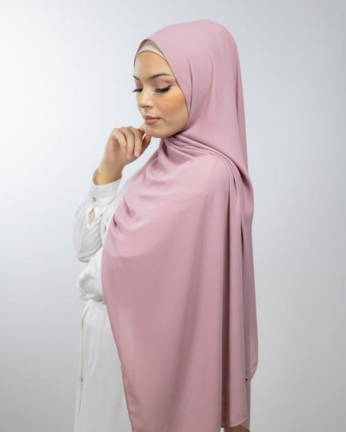 Hijab en crêpe de Luxe LamisHijab® Création
