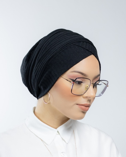Turban à enfiler en Maille